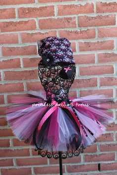 Pirate Princess Tutu Halloween Costume by PrincessDreamsTutus, $50.00