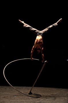 URBAN RABBITs by CNAC  Taken at Circa Contemporary Circus Festival.  October 2010. Auch, France.  Photo by: Ben Hopper