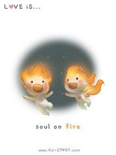 HJ-Story ~ Love is... Soul on fire