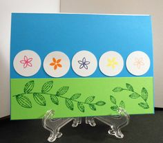 Five flowers by Ginadapooh on Etsy