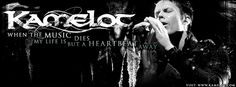 #Kamelot#Silverthorn #lyrics - Tommy Karevik Heartbeat Facebook Cover by Kamelot Germany FC