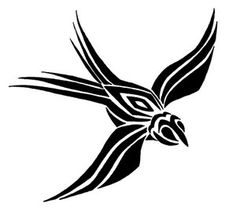 tribal swallow