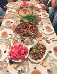 Eating iftar with the family at home serves the interest of bringing the family together #ramadan #food #iftar #family #home