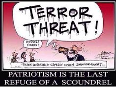 In Australia one has more chance of winning an election than dying from terror #auspol #terror