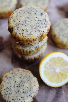 Love At First Bite: Paleo Lemon Poppy Seed Muffins
