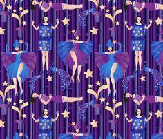 magic! fabric by kociara on Spoonflower - custom fabric