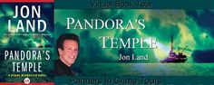 Laurie's Non-paranormal Thoughts and Reviews: Pandora's Temple by Jon Land: Interview and Excerpt: Partners in Crime Tour Stop