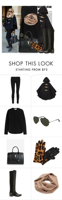 """Gal Meets Glam: winter cape"" by prettyorchid22 ❤ liked on Polyvore featuring rag & bone, Fidelity Sportswear, Alexander Wang, Yves Saint Laurent and Echo Design"