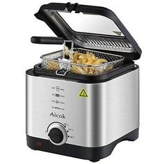 Electric-Deep-Fat-Fryer-Fish-Chip-Basket-1-5L-Small-Kitchen-Fry-Pan-Oil-Compact