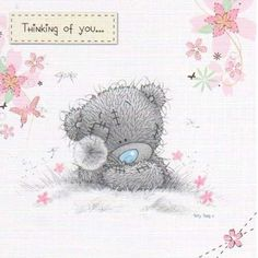 Thinking About You Cards | Thinking of You Me to You Bear Card (A01GS010) : Me to You Online ...