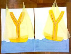 letter crafts y | is for Yellow Yacht! .