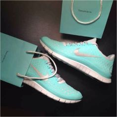 I would ACTUALLY run for Tiffany Blue