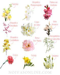 Nomes das flores usadas em casamentos