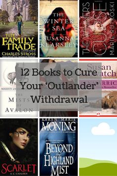 If You Love Jamie Fraser and can't wait for season 2 of Outlander, here are awesome  12 books to cure your Outlander withdrawal