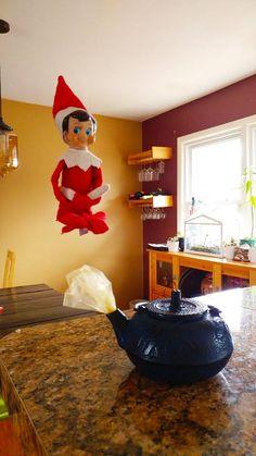 Elf on the Shelf - Elf Genie in the Lamp