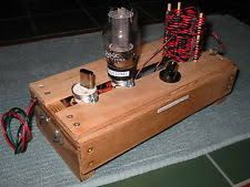 Image result for 1940s portable radio transmitter