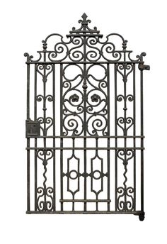 VICTORIAN CAST IRON SIDE GATE - UK Architectural Heritage