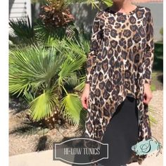 Hi low tunics are the perfect transition piece. Shop www.shannasthreads.com #modestfashion