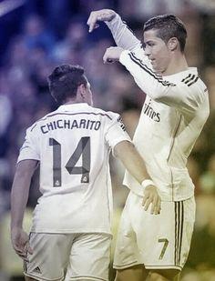 Chicha & CR7 nailed it..
