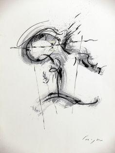Enzo Cursaro - Carta n° 33 2005-72x48/carta Arches