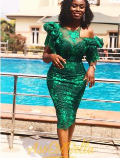 Check out these Ravishing Asoebi styles we have for you today for you to wear and be unique as a wedding guest. Aso Ebi Lace Styles, African Lace Styles, Lace Dress Styles, African Lace Dresses, Latest African Fashion Dresses, African Print Fashion, Ankara Styles, Africa Fashion, African Style
