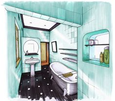 How To Draw Interior Perspectives Interior Inspire Me
