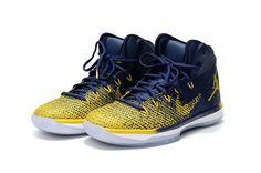 "dee53af89a2 Air Jordan 31 ""Michigan"" Iconic Blue-Yellow 2016 Release. Cheap Jordans For  SaleCheap ..."