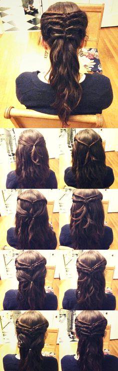 Vikings, Viking hair and the Vikey-tail tutorial. #hthg #hair