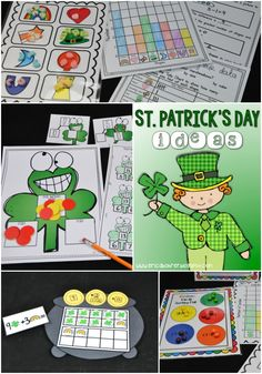 St. Patrick's Day Ideas and Freebies | Erica's Ed-Ventures