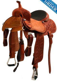Sherry Cervi barrel saddle