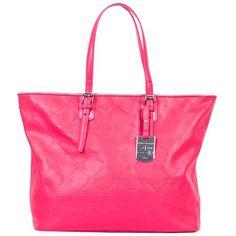 Longchamp LM Cuir Tote Bag, Pink
