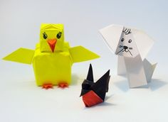 Easy Origami Crafts for Kids to Do ... animals great for Bible Lesson on Noah