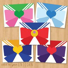 Sailor Moon Minimalist Art Stationery by Wordtoyourunicorn on Etsy, $1.50