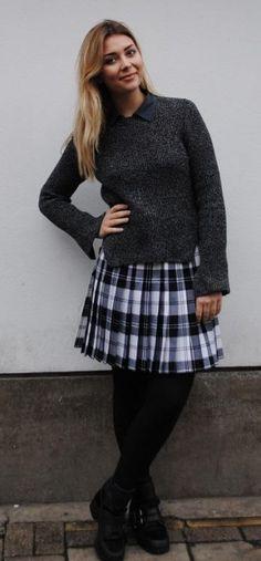Flo Tartan Mini Kilt