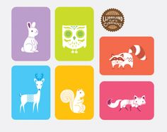 Packaging of the World: Creative Package Design Archive and Gallery: Woodland Creatures Package (Student Work)