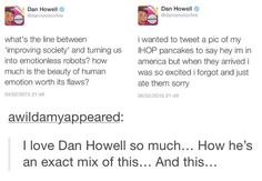 Ha ha • Dan howell • Danisnotonfire