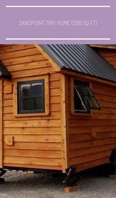 #tiny homes 200 sq ft Sandpoint Tiny Home (200 Sq Ft)