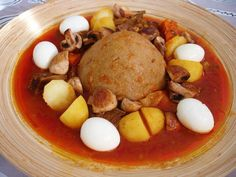 Libyan Popular meal Albazeen