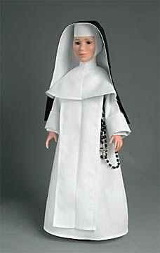 catholic nun dolls  Sisters of St. Dominic traditional habit