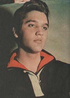 Elvis backstage - Ed Sullivan press conference