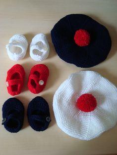 Bonnet Marin, Crochet Beret, Couture, Baby Knitting, Baby Kids, Creations, Bonnets, Etsy, Motifs