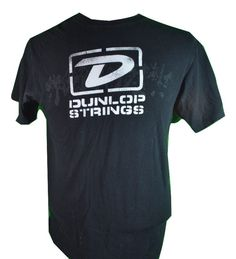 #Dunlop #Guitarist #Strings Tee Shirt Black M 100% Cotton Free Shipping #Musician #Anvil #BasicTee