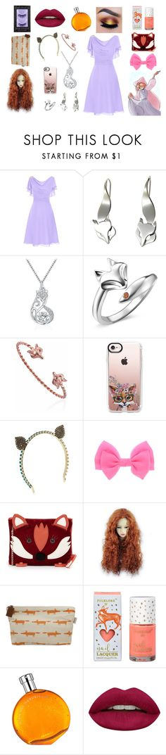 """""""Maid Marian"""" by aisling-kells ❤ liked on Polyvore featuring T400 Jewelers, Casetify, Vittorio Ceccoli, Charlotte Olympia, Scion, Hermès, Huda Beauty and Urban Decay"""