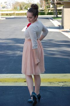 tulle lace skirt
