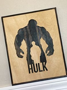 Scroll Saw Art HULK Hulk pic Incredible Hulk by CutWithTheGRAIN