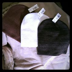 BNWT. .. set of 3 beanies BNWT. .. set of 3 beanies Accessories Hats
