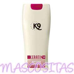 K9 Keratin + Moisture Champú es apto para cualquier tipo de manto y raza, para cachorros y adultos, para todos los animales domésticos, para el uso a diario, el profesional de peluquería y la competición.