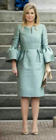Royal Family wedding ceremony dress fashion style PrincessCharlene Victoria Made. - Wedding Outfits For Family Members - Guest Hollywood Fashion, Royal Fashion, Hollywood Actresses, African Fashion Dresses, African Dress, Dress Fashion, Wedding Outfits For Family Members, Ceremony Dresses, Wedding Ceremony