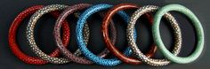 Polymer Clay bangle bracelet by photo plus, via Flickr