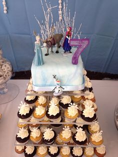 Disney Frozen Birthday Party Ideas | Photo 1 of 17 | Catch My Party